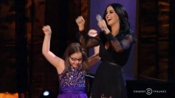 Jodi DiPiazza Performs Firework With Katy Perry At Night Of Too Many Stars