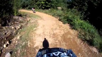 Five Year Old's Helmet Cam Commentary While Mountain Biking With Dad Is Adorable