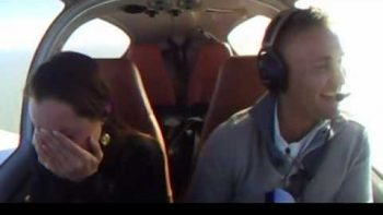Pilot Fakes In-Flight Emergency For Surprise Proposal