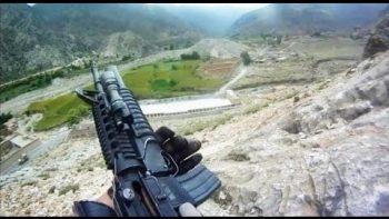 U.S. Soldier Survives Being Shot By Taliban Machine Gun Fire
