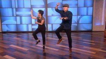 Mom And Son Dance To Gangnam Style On Ellen Degeneres Show