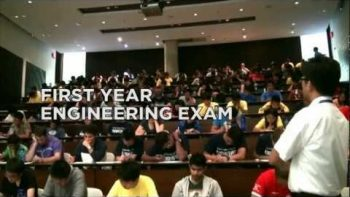 Engineering Flash Mob During Exam