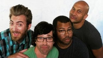 Rhett And Link Take Photos With Key And Peele