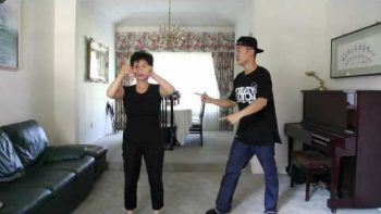Son And Mom Star In GANGNAM STYLE Dance Music Video