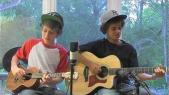 Myles And Kolton Covers I Won't Give Up By Jason Mraz
