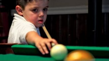 5 Year Old Pool Prodigy Is Three Generations In The Making