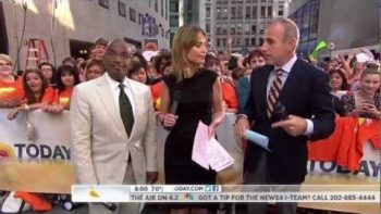 Al Roker Freezes On Today Show