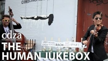 The Human Jukebox On The Streets Of New York