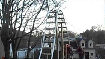 Dad Builds Backyard Rollercoaster For His Daughter With Twelve Foot Drop