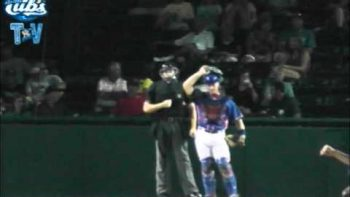 Umpire Ejects Daytona Music Man Derek Dye