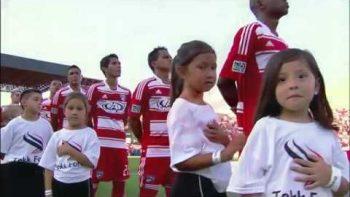11-Year Old Harper Gruzins National Anthem Fail