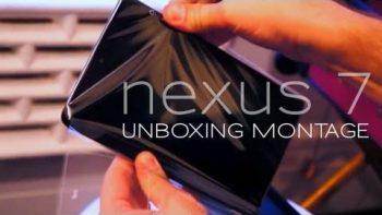 Unboxing Nexus 7 Tablet Frustration Compilation