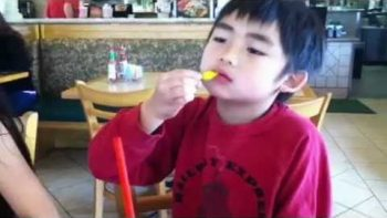 Little Boy Tries Hot Pepper, Instantly Regrets It