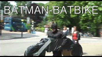 The Dark Knight Running Around Town In Real Life