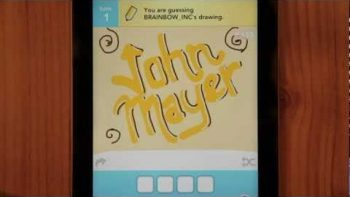 John Mayer Queen Of California Draw Something Music Video