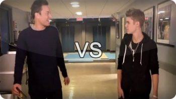 Jimmy Fallon VS Justin Bieber