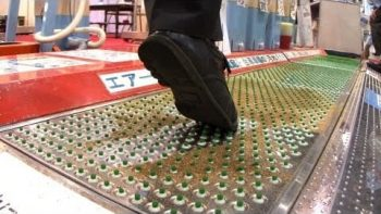 Suction Mat Made In Japan Cleans Shoe