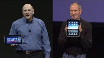 Microsoft Surface VS Apple iPad Press Conference