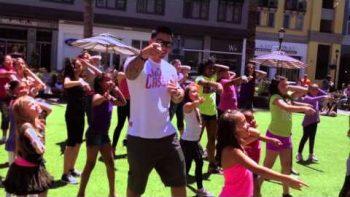 Surprise Little Girl Dance Flash Mob Proposal