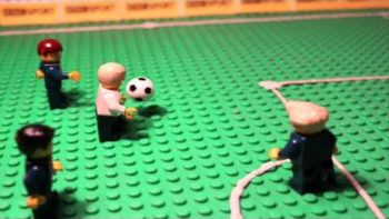 Greatest Euro Soccer Moments Remade With Lego