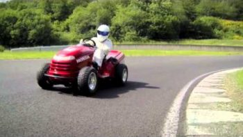 The 130 MPH Lawnmower