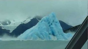Enormous Iceberg Flips Over Near Argentina