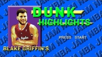 Blake Griffin NBA JAM Style