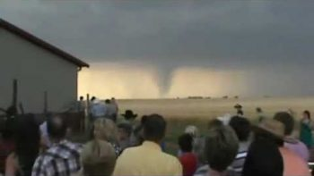 Tornado Caught On Camera Behind Pence, Kansas Wedding