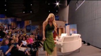 Anderson Cooper Kicks Human Barbie Off Show, Calls Her 'Dreadful'