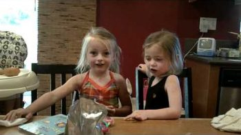 Little Girls Learn How To Say 'Popsicle'