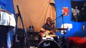 John Marek Plays Guitar And Drums