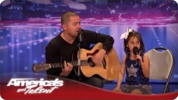 Father Jorge And Daughter Alexa Narvaez Sing Home – America's Got Talent
