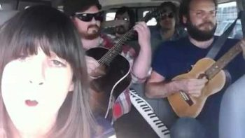 Soul Band Covers George Michael's Faith While Driving In Van