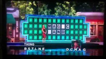 Wheel Of Fortune 'Magic Wand' Fail