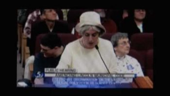 Crazy Nebraska Woman Make Anti-Gay Rant At Public Hearing