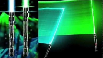 Real Lightsaber Laser Sword Commercial