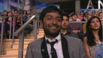 Aziz Ansari Pranks Anderson Cooper With Look A Like