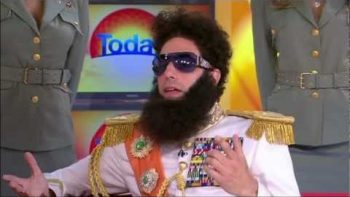 The Dictator On Australia's Today Morning Show