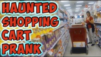 Haunted Shopping Cart Prank At Target