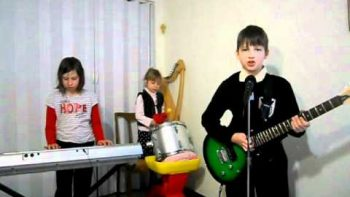 Children Medieval Band Performs Cover Of Rammstein's Sonne
