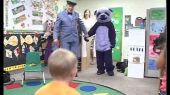 Purple Panda Scares Kids In Daycare