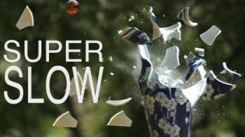 Destroying Tea Party Dishes In Super Slow Motion