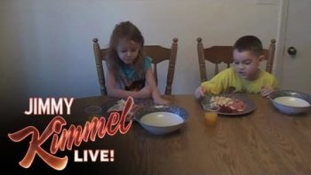 Jimmy Kimmel Asks Viewers To Copy Alicia Silverstone And Feed Their Kids Pre-Chewed Food 'Bird-Style'