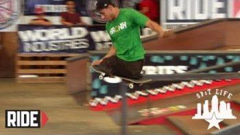 Italo Romano Skateboarding With No Legs At Tampa Pro 2012