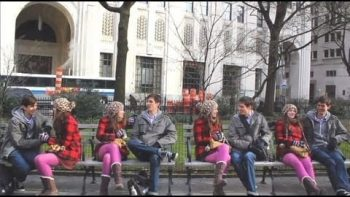 Quadruplets In The Park Improv Prank