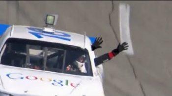 NASCAR Announces Autonomous Google Race Car April Fools