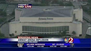 Amway Arena Demolition