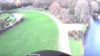 Man Flies In Winged Bird Suit