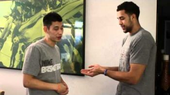Jeremy Lin and Landry Fields Secret Handshake
