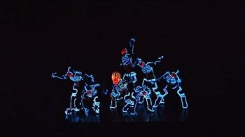 TRON Lightsuit Dance